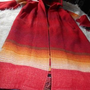 Woolrich vintage Indian Blanket coat A stunner